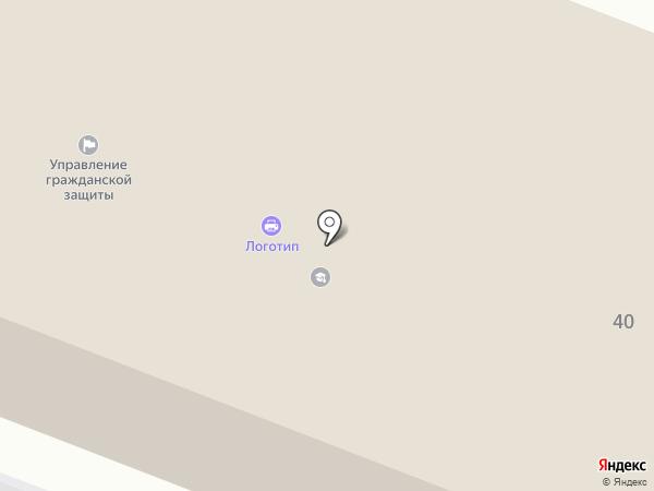 Лаурус на карте Вологды