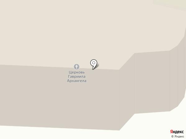 Церковь Гавриила Архангела на карте Вологды