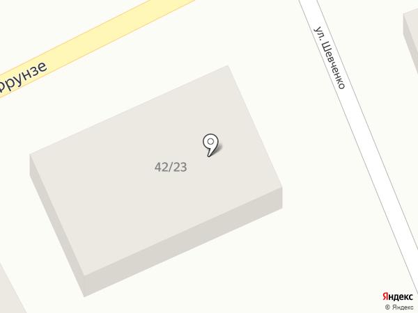 Фитнес Элита на карте Аксая