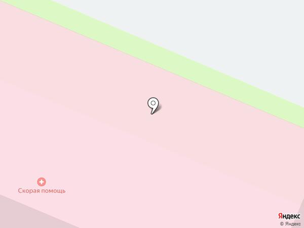 Скорая медицинская помощь на карте Вологды
