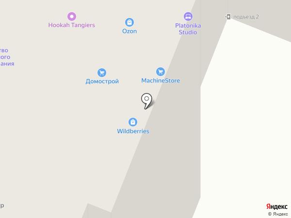 Домострой на карте Вологды