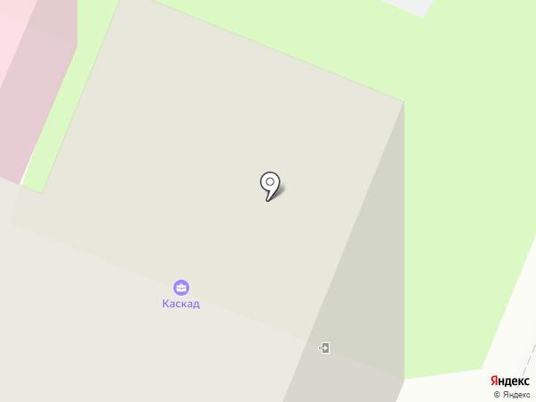 Каскад Авто на карте Вологды