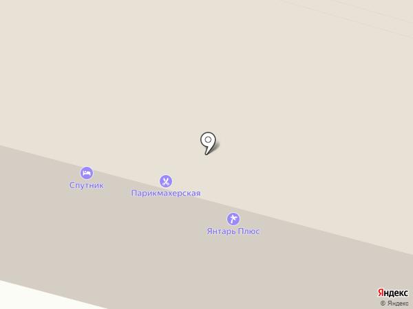 Спутник на карте Вологды