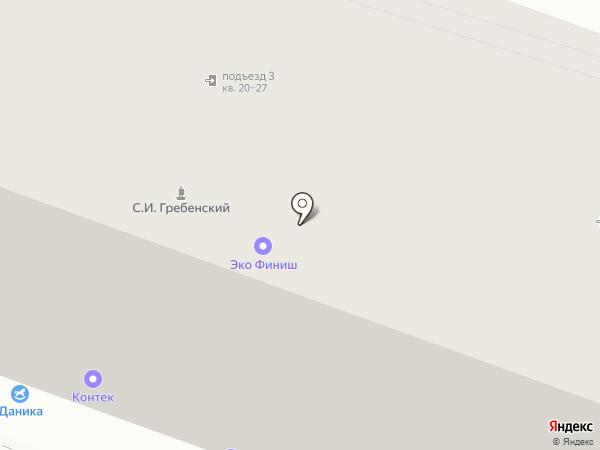 Идеалрез на карте Ярославля