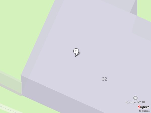 ВоГУ на карте Вологды