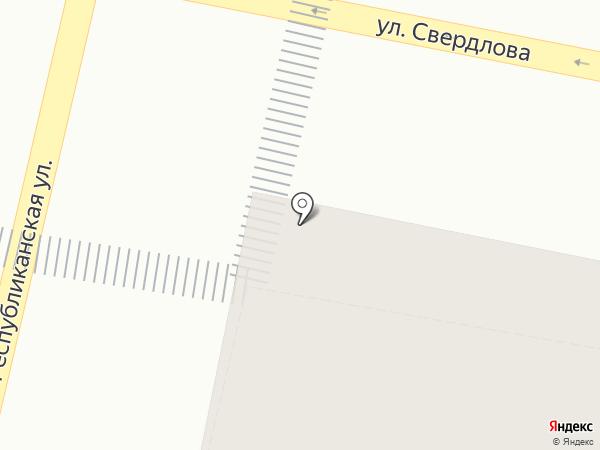 Шпаргалка на карте Ярославля