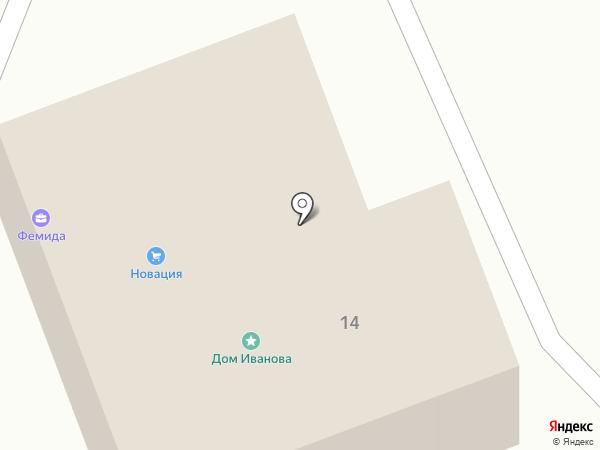 Адвокатский кабинет Кузнецова Ю.Н. на карте Вологды
