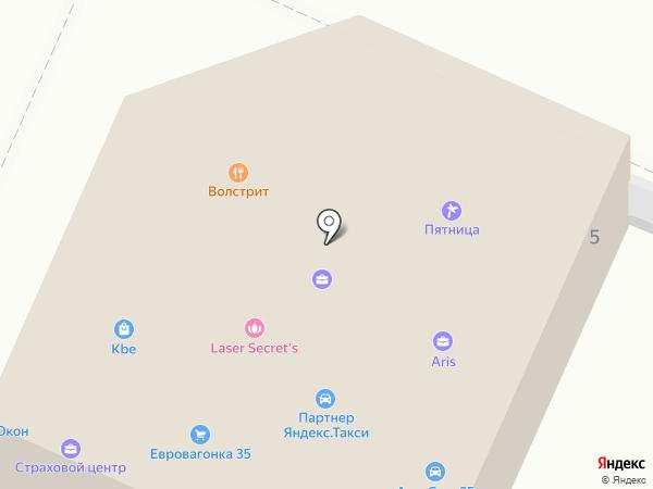 Мастер Окон на карте Вологды