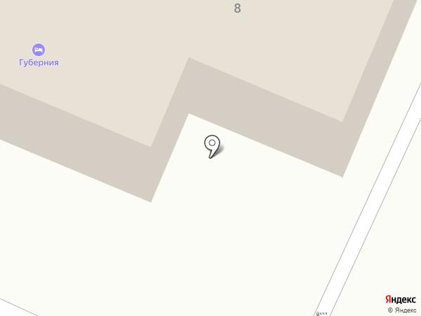 Губерния на карте Вологды