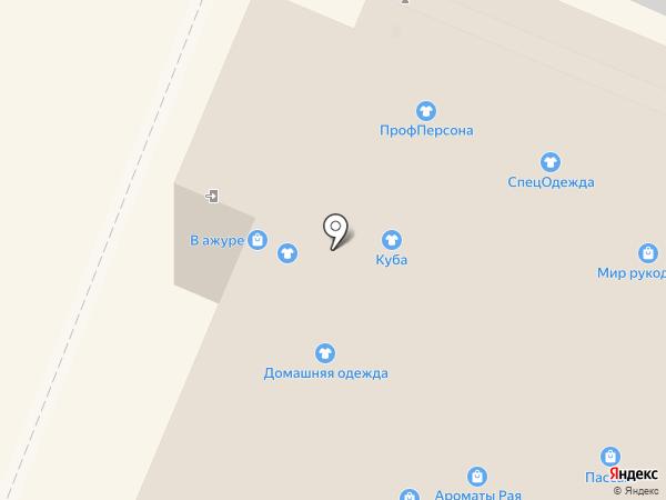 Zефир на карте Вологды