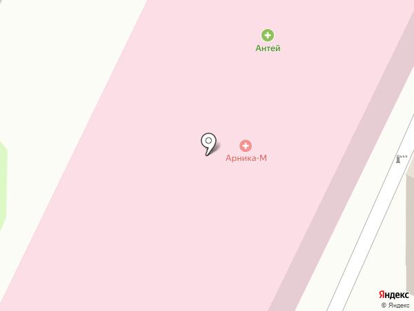 Арника на карте Вологды