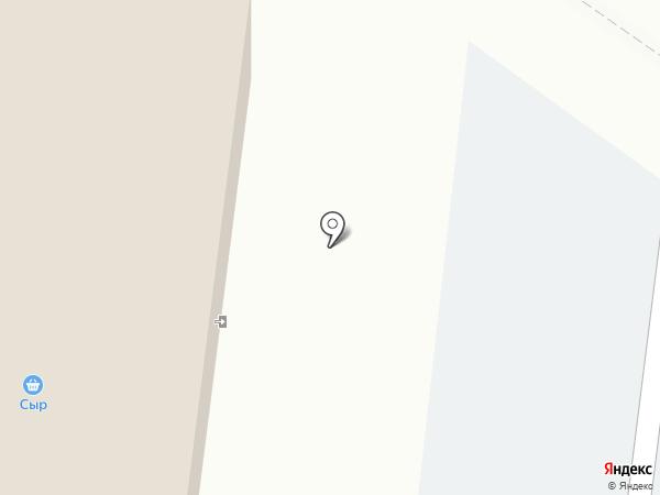 Теплица на карте Вологды