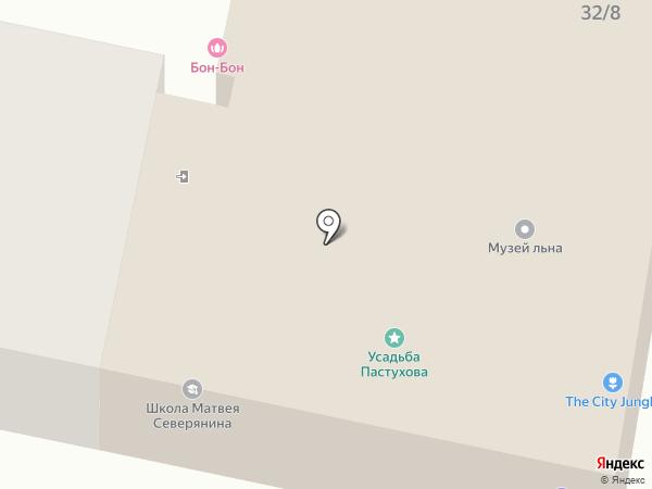 Оранжерея мира на карте Ярославля
