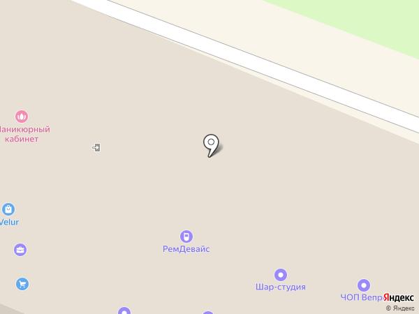 Советник на карте Вологды