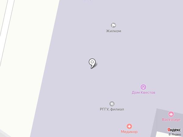Жилком на карте Ярославля
