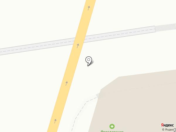 Ярославские аптеки на карте Ярославля