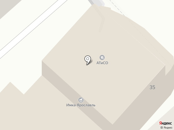 Новый Ярославль на карте Ярославля
