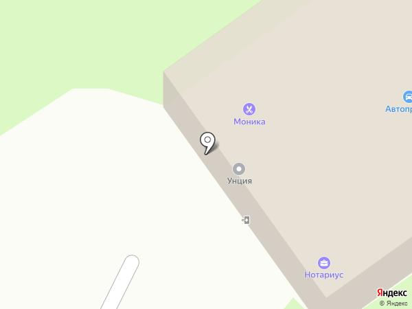 Мини-гостиница на карте Вологды