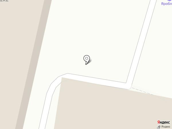 The Corner на карте Ярославля