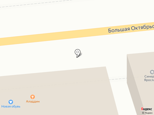 Аладдин на карте Ярославля
