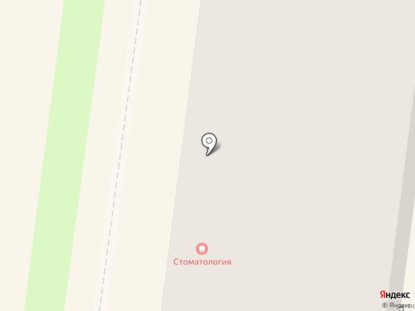 Вологодская стоматологическая поликлиника №1 на карте Вологды
