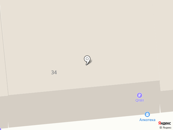 Большая модница на карте Ярославля