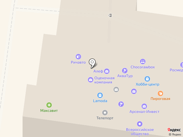Техэксперт на карте Вологды