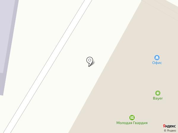 Группа Редстар на карте Ярославля