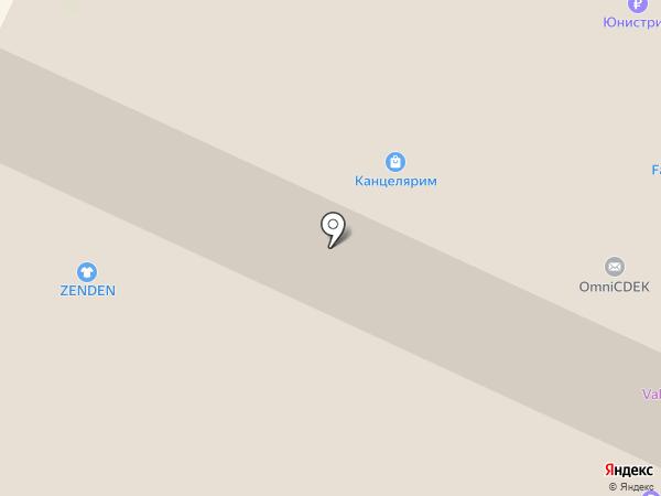 Чайкофъ на карте Вологды