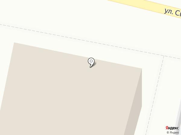 Затея на карте Ярославля