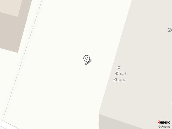 Гард на карте Ярославля