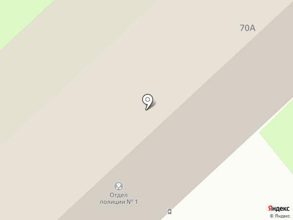 Отдел полиции №1 на карте Вологды