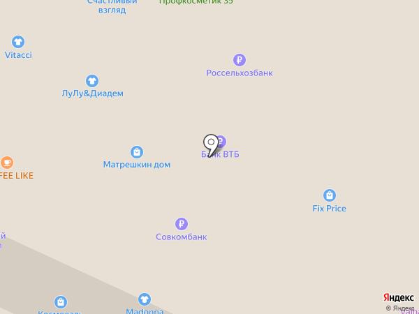 Матуаж на карте Вологды