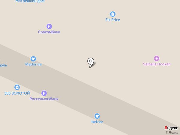 Валентина на карте Вологды