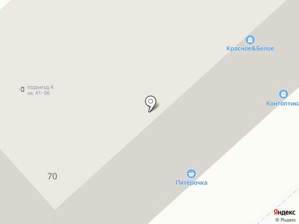 Клинок на карте Вологды