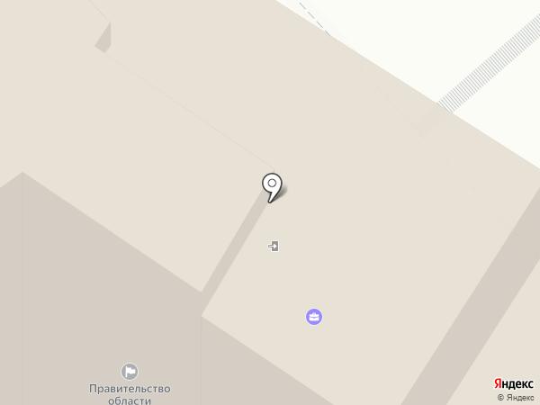 Аппарат полномочного представителя Президента РФ в Северо-Западном федеральном округе на карте Вологды