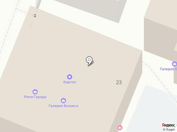АС-Прогресс на карте Ярославля