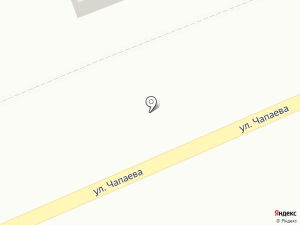 Акация на карте Аксая