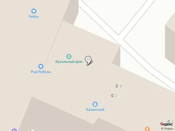 ДК ХЗ на карте Ярославля