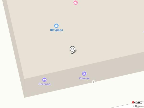 Спорт-бар на карте Вологды