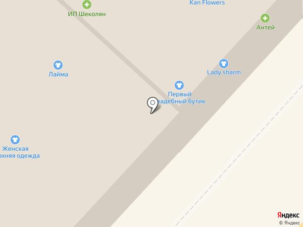 Лайма на карте Вологды