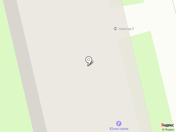 Почтовое отделение №23 на карте Вологды