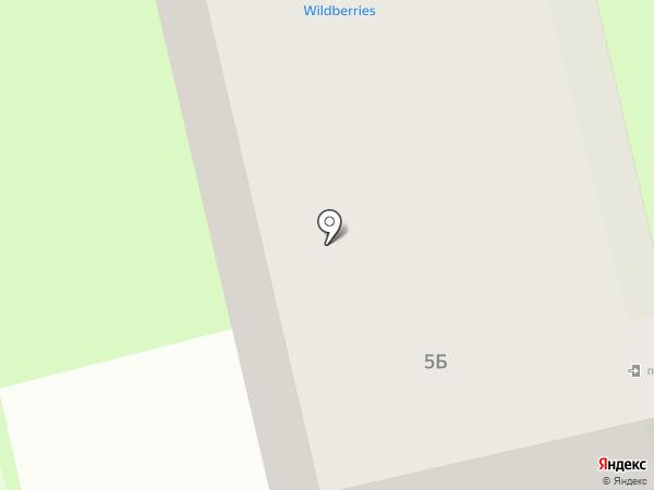 Дик на карте Вологды