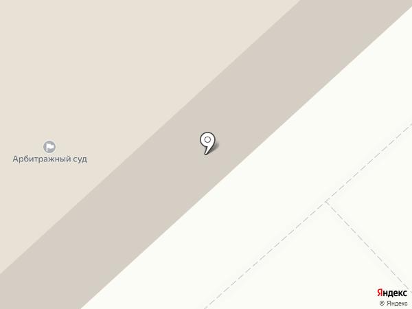Арбитражный суд Вологодской области на карте Вологды