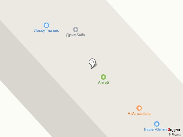Надежное будущее, КПК на карте Вологды