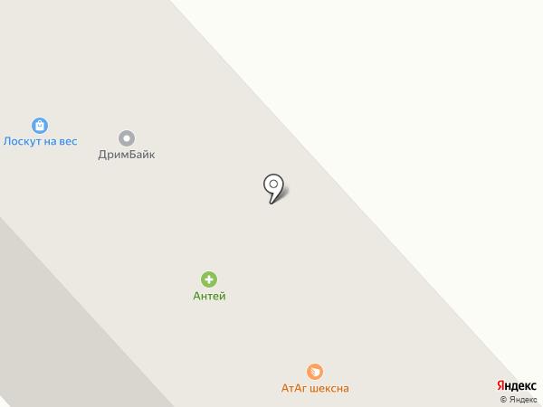 Ивановский трикотаж на карте Вологды