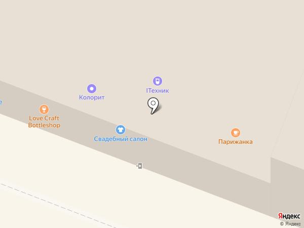 О`Город на карте Вологды
