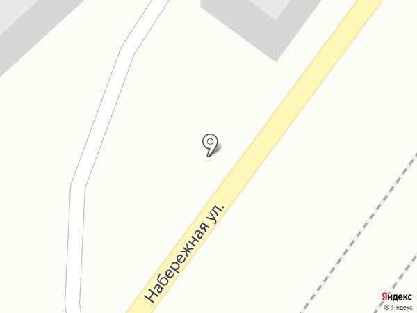 Красный Квадрат на карте Аксая