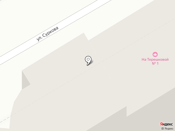 Подаркофф на карте Ярославля
