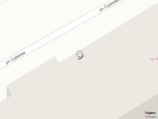 На Терешковой №1 на карте Ярославля